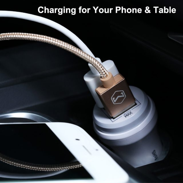 Mcdodo Dual USB Car Charger 2.4A Fast Charging for iPhone 7 8 Car-charger Adapter for Samsung Oneplus 5 Xiaomi Car Phone Charger