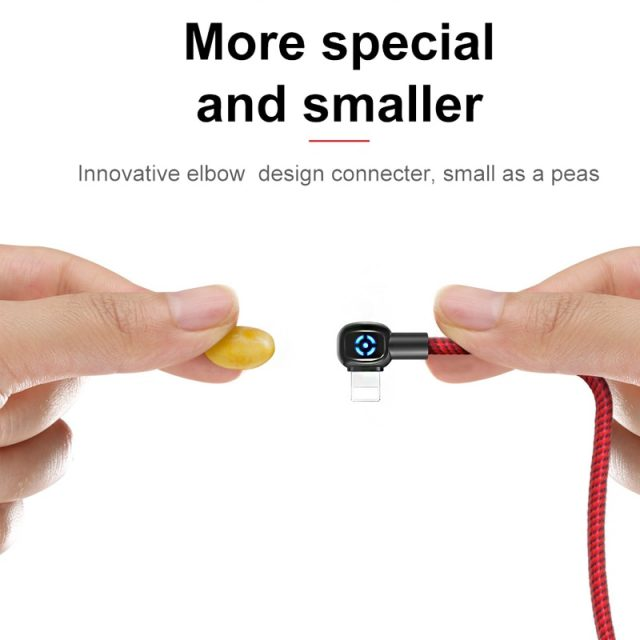Mcdodo Auto Disconnect LED Light For iPhone Charger Cable USB Cord Fast Charging Data Cable For iPhone XR XS Max 8 7 Plus