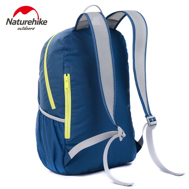 *Naturehike Men Women Lightweight Outdoor Sports Backpack Foldable Nylon Hiking Camping Mountaineering Gym Fitness Travel Bag