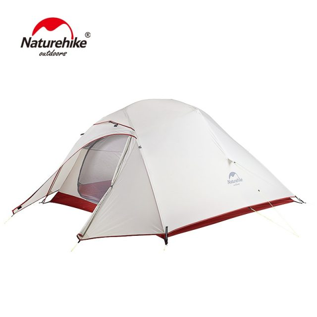 Cloud Up Series 20D Nylon Ultralight Camping Tent Waterproof Wind-proof HikingTent For 3 Person NH18T030-T