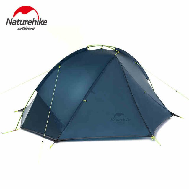 1.4-1.6 Kg Tagar 1-2 Person Tent Camping Backpack Tent 20D Ultralight Fabric NH17T140-J