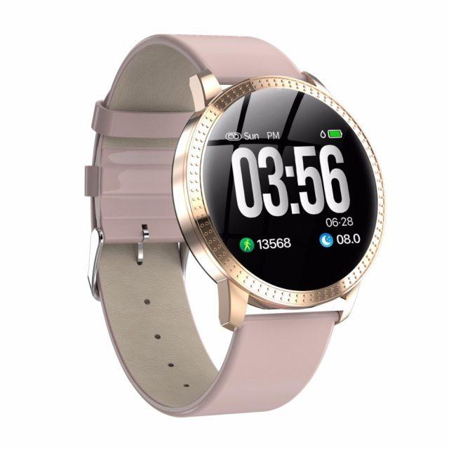 VS V11 Q8 Smart watch IP67 waterproof Tempered glass Activity Fitness tracker Heart rate monitor BRIM Men women smartwatch CF18